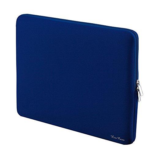 KKmoon Cerniera Borsa A Manica Morbida Custodia 15  15.6  Per MacBook Pro Retina Ultrabook Notebook Portatile (Blu)