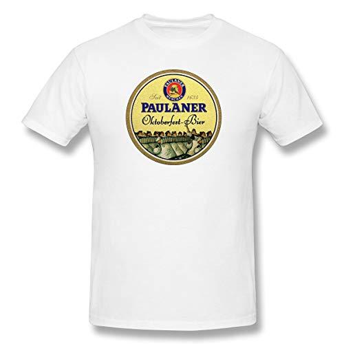Das Oktoberfest Paulaner Brauerei-Bier Märzen der Männer deutsche Küche lustiges T-Shirt