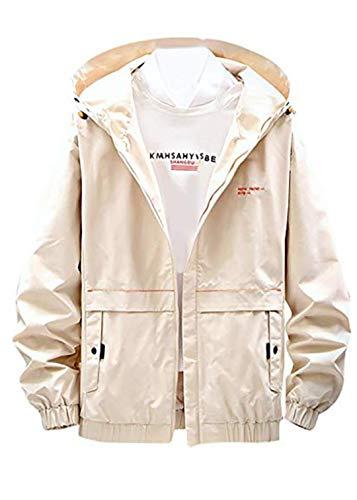 KPILP Herren Windbreaker Basic Pull-Over Jacket Hoodies Frühjahr und Herbst Camouflage Leichte Outdoorjacke Atmungsaktive Dünne Casual Outwear