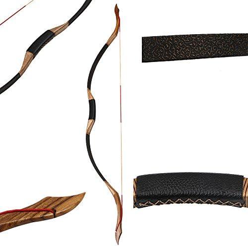 30//50lb Traditional Han Recurve Bow Handmade Vintage Bow Archery Hunting