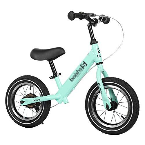 Bicicleta sin pedales Bici Niños Chicas Bicicleta De Equilibrio Strider para Bebé...