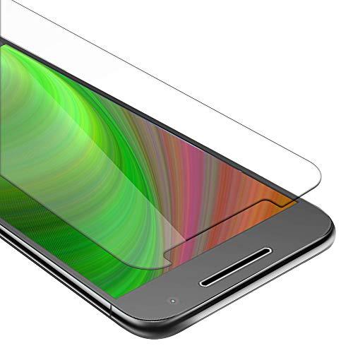 Cadorabo Película Protectora para Motorola Moto G4 en Transparencia ELEVADA - Vidrio...