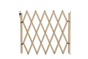 Nordlinger Pro 742000 BARRIERE ANIMAUX EN BOIS EXTENSIBLE STOP'FIX