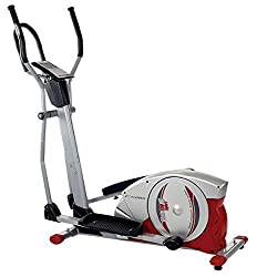 Christopeit crosstrainer ergometer CXM 6, silver / red / black, 9128