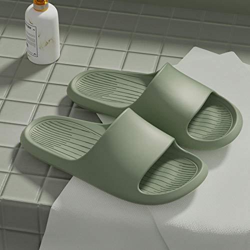 Coral Vaughan Bad Hausschuhe Herren Sommer Indoor rutschfeste Badewanne-35-36_Grün