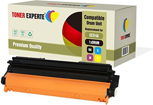 TONER EXPERTE® CE314A 126A Tamburo compatibile per HP Colour Laserjet CP1025 CP1025nw CP1020 M175a M175nw Pro 100 M175 MFP M175a M175nw M176n M177fw M275 TopShot M275 M275a M275nw