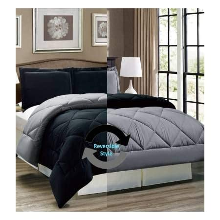 KEA Reversible Double Bed King Size Comforter/Duvet for Summers/Ac; Color Peach & Ablaze Aqua; Fabric - Micro Cotton; 300 GSM; Size - 230x254 Cms; Color Fastness Guarantee
