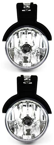 For Dodge Dakota | Durango Front Fog Light Lamp 1997 1998 1999 2000 Driver and Passenger Side Assembly Replacement