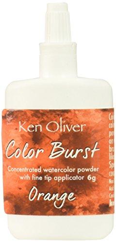 Contact USA KN06110 6g Orange Crafts KOliver Color Burst