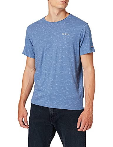 Pepe Jeans Paul Camiseta, Multicolor (533light Thames), XX-Large para Hombre