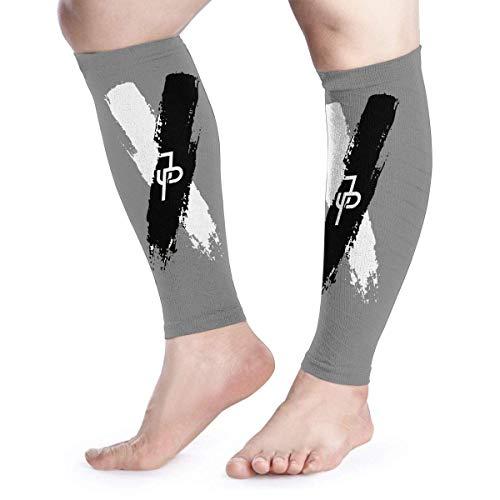Bikofhd Wadenkompressions-Ärmel Leg Performance Support Jake Paul X Leg Support Socks for Women Men 1 Pair