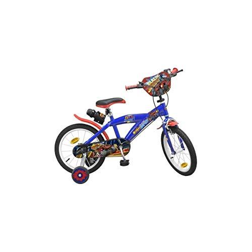 Pik&Roll Blaze - Bicicletta da bambino, unisex, 16', colore: Blu