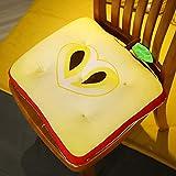 3Dシミュレーションぬいぐるみ漫画フルーツ枕ソファクッションキウイストロベリーアップルグレープレモンぬいぐるみクリエイティブ家の装飾 林檎 45cm