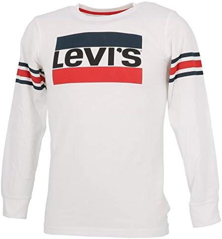 Camiseta Levis Geoffrey Blanco para Niño