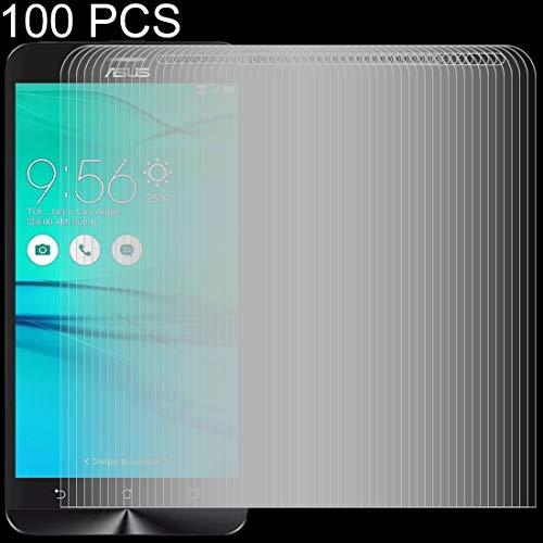 JIXIAO Accesorios for Boutique 100 PCS 0.26mm 9H 2.5D Película de Vidrio Templado for ASUS ZenFone Go ZB552KL