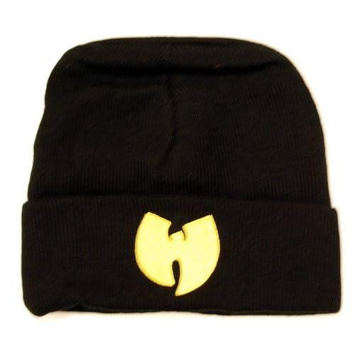 Wu Wear Wu-Tang clan Wu Symbol Beanie Mütze Bonnet black schwarz Wollmütze a5fba5af193