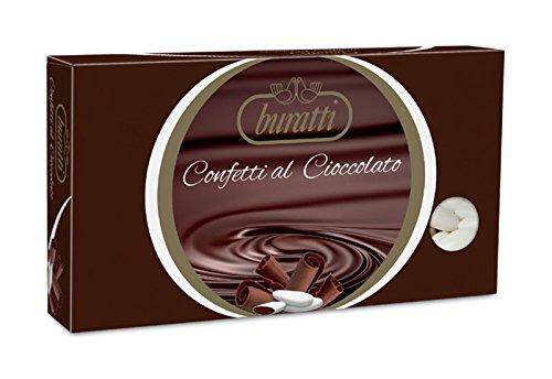 Confetti Buratti Al Cioccolato Extra Fondente 1 Kilogram Vari Colori