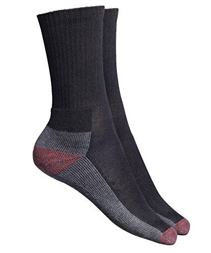Dickies Kissen Crew Socke (5er Pack) - Schwarz, One size