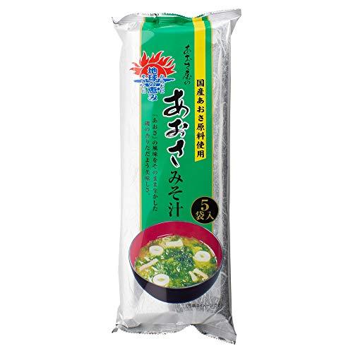 磯笛 国産あおさみそ汁5食×10袋(50食)