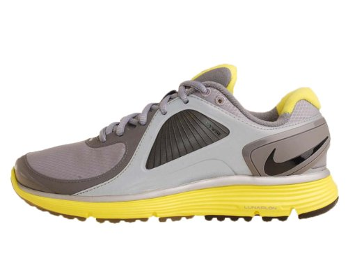 Nike WMNS Lunareclipse Shield Grey Sonic Yellow Womens Running Shoes 415341-007 [US Size 5]