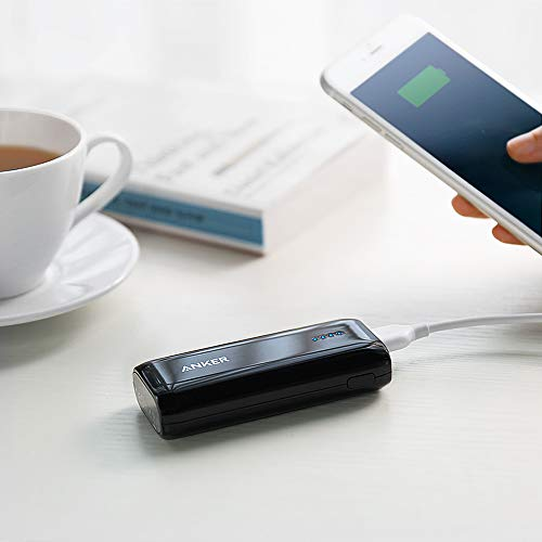 [Upgraded to 6700mAh] Anker Astro E1 Candy-Bar Sized Ultra Compact Portable Charger, External Battery Power Bank, with High-Speed Charging PowerIQ Technology