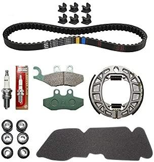 Kit original de correa y 8 rodillos para Piaggio MP3 MIC 400 de 2008//2010
