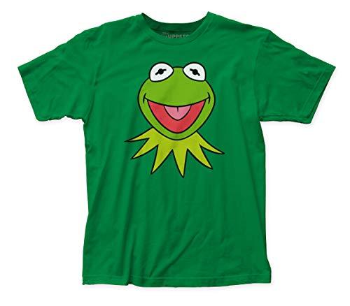 VJSDIUD Camiseta de Jersey Ajustada con Cara Kermit de los Muppets