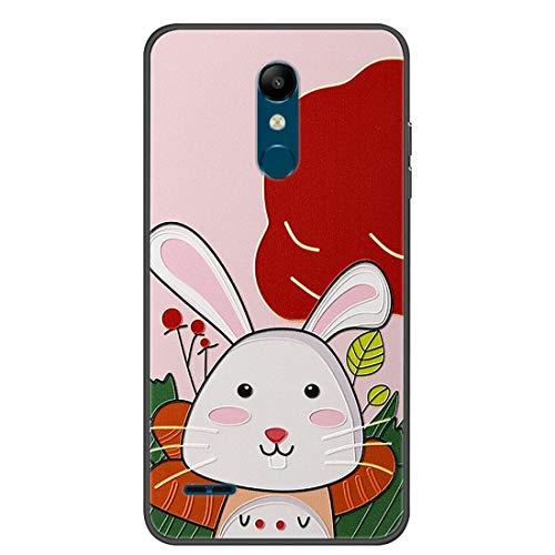 Hongjian Funda para LG K11 Phone TPU Soft Silicone Case Cover 5