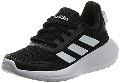 adidas Tensaur Run K, Zapatillas para Correr Unisex Adulto, Core Black/FTWR White/Core Black, 39 1/3 EU