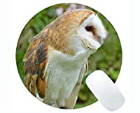 カスタマイズされた丸いマウスパッド、新しい白頭Eagleのテーマラバーラウンドマウスパッド