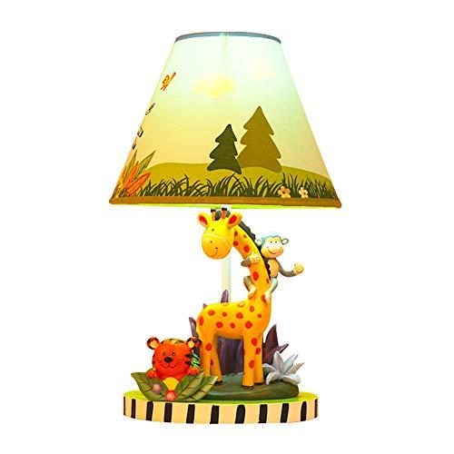Kinderzimmer Nachttischlampe, Giraffe Tischlampe, Dimmer, kann die Helligkeit der Lampe nach Belieben einstellen, geeignet für Jungen und Mädchen