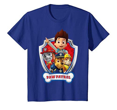 Kinder US Paw Patrol Kids Patrol Badge 01 T-Shirt