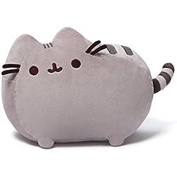 GUND 6055547 Pusheen Eiswaffel Internet-Katze Kuscheltier Plüschkatze 24 cm