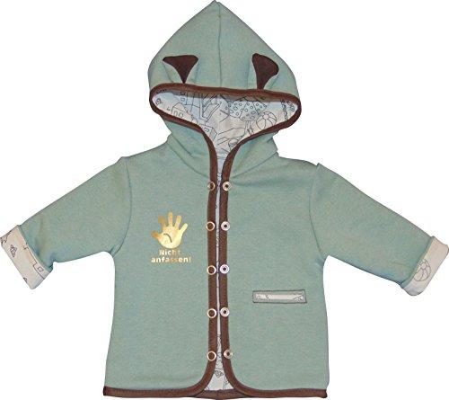 Mamadu Baby- Jacke Inside-Out Schnittmuster zum Nähen (Größe 56-98), Wendejacke für Kinder aus Jersey/Sweat