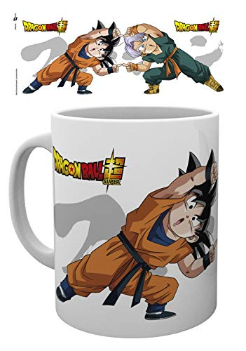 1art1 Dragon Ball, Super Fusion Dance Taza Foto (9x8 cm) Y 1x Taza Sorpresa