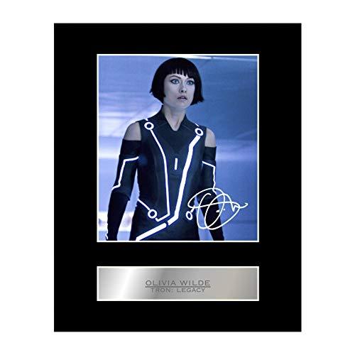 Olivia Wilde Signiert Foto Display Tron: Legacy