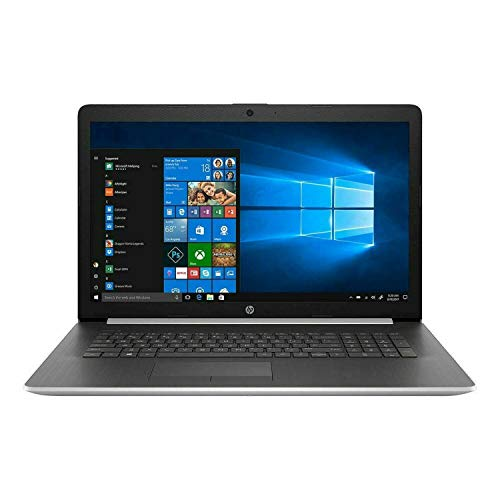 Newest HP 17 Thin and Portable Laptop, 17.3' Full HD IPS, i5-1035G1 (Beat i7-8550U), Backlit Keyboard, WiFi, Bluetooth, HDMI, Webcam, Intel UHD Graphics, Windows 10 (16GB RAM | 512GB SSD | 1TB HDD)