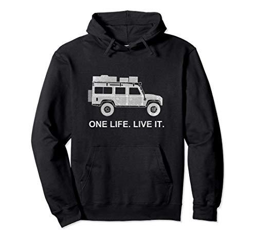 Defender Dachzelt Offroad 4x4 Reisefahrzeug Geschenk lustig Pullover Hoodie