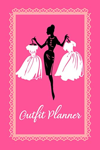 Outfit Planner: Personalized Wardrobe Logbook | Perfect Fashion Journal | Outfit Organizing Planner