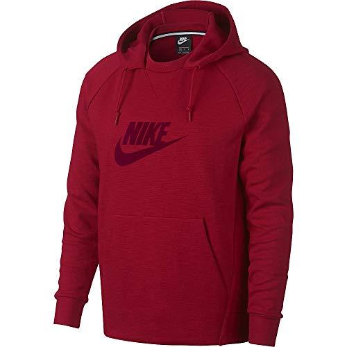 Nike Herren M NSW Optic Hoodie PO GX Sweatshirt, Gym red, XL