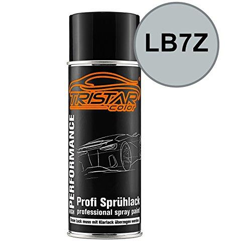 TRISTARcolor Autolack Spraydose für VW/Volkswagen LB7Z Satinsilber Metallic/Satin Silver Metallic Basislack Sprühdose 400ml