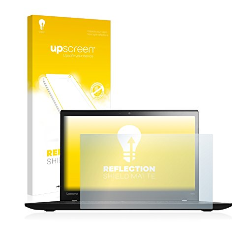 upscreen Entspiegelungs-Schutzfolie kompatibel mit Lenovo ThinkPad T460s UltraBook – Anti-Reflex Bildschirmschutz-Folie Matt