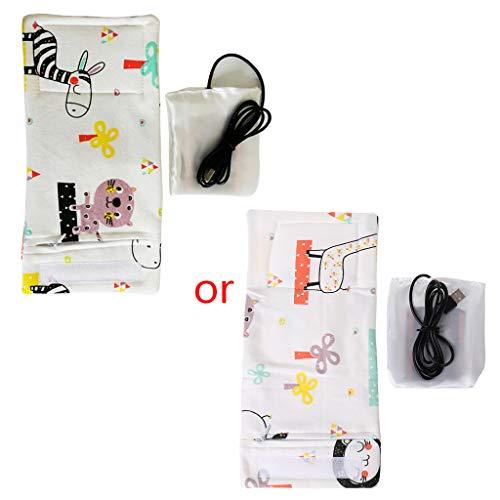 Mayoaoa USB Lade Neugeborenen Flaschenwärmer Tragbare Outdoor Säuglingsmilchflasche Beheizte Abdeckung Baby Pflege Isolierte Tasche Pflege