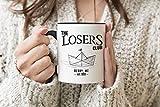 The Losers Club King Stephen It Pennywise Taza con asa negra Taza para té y café 330 ml Mug Cup