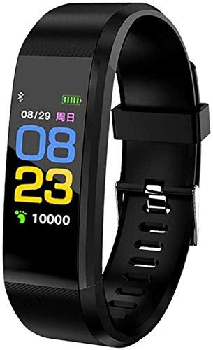 Moda Deportes Actividad S Color Pantalla Pulsera Deportes Reloj Fitness Correr Caminar Moda Niños s Relojes para Hombres Mujeres Niño-B