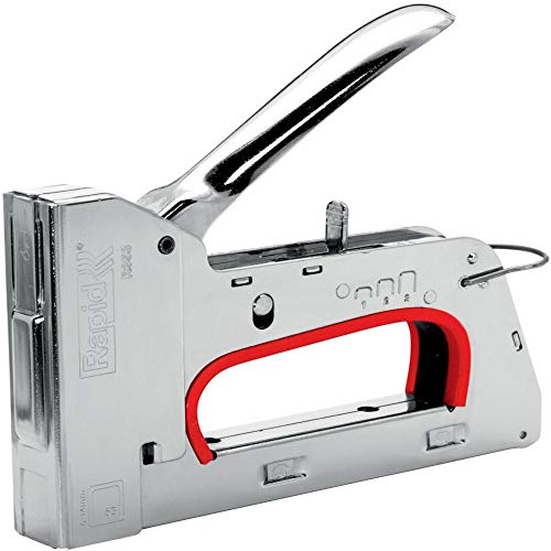 Rapid Handtacker R353 für Holz und Stoffe, Leistungsstark, Komplett aus Stahl, für Klammern Typ 53, 6-14mm