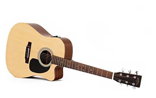 Guitarra Acústica/Electroacústica Sigma DMC-STE+