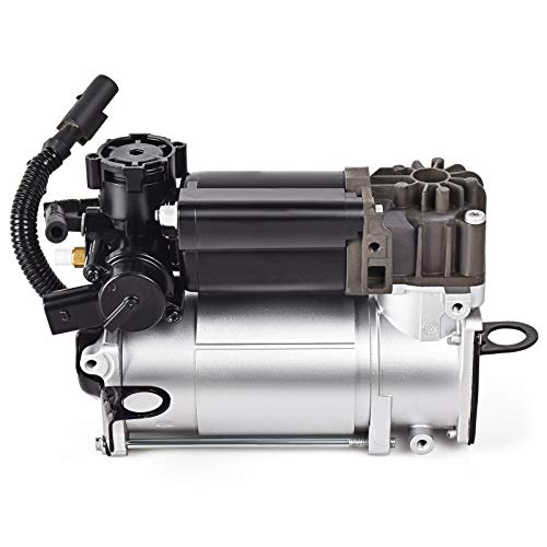 Nifeida Airmatic Air Suspension Compressor Pump Replacement for Mercedes-Benz W220 W211 W219 CLS550, CLS63 AMG, E320, E350, E500, E55 AMG, E550, E63 AMG, S430, S500, S600, oem 2203200104 2113200304