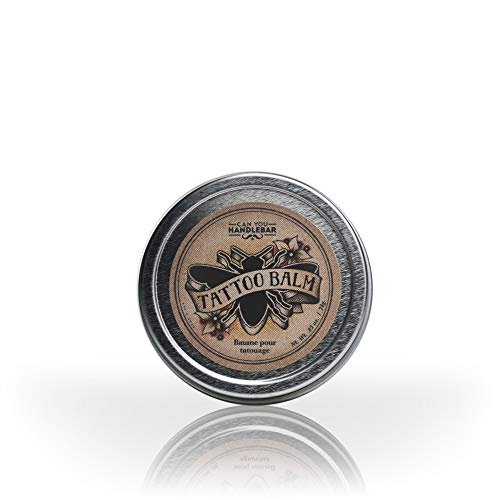 Tattoo Healing Balm - All Natural Tattoo Aftercare Product | Moisturizes and Protects Skin and Tattoo | Hypoallergenic Fragrance-Free Tattoo Healing Ointment | Made in the USA