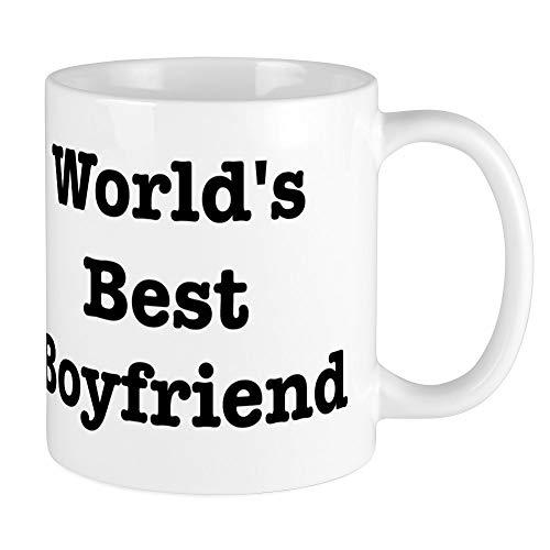 CafePress - Worlds Best Boyfriend Mug - Unique Coffee Mug, Coffee Cup, Tea...